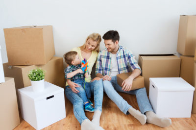 Home move with kids